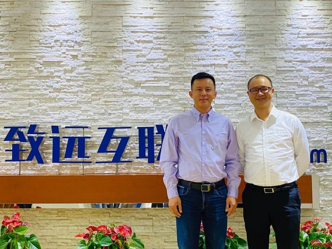 法大大创始人兼CEO黄翔,致远互联副总裁、协同云事业部总经理李春